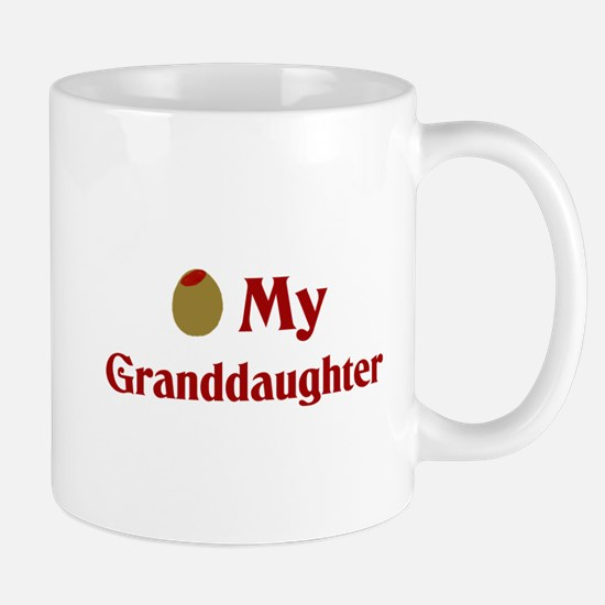 Olive (I Love) My Granddaughter Mug