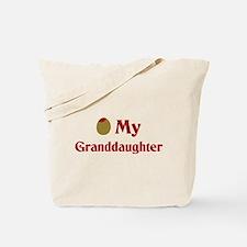 Olive (I Love) My Granddaughter Tote Bag