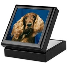"""Irish Setters - B1"" Keepsake Box"