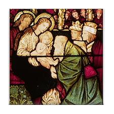 Burne-Jones Adoration Tile Coaster
