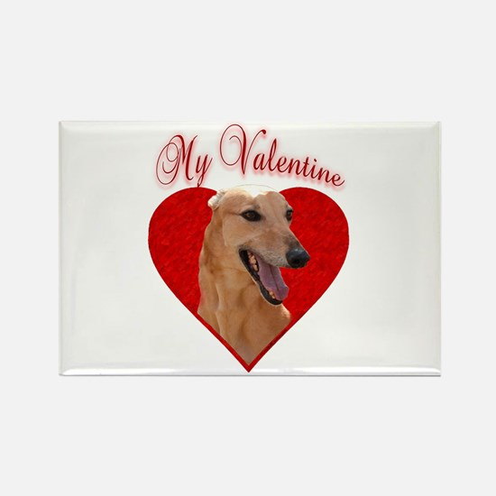 My Valentine~Red Rectangle Magnet