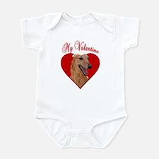 My Valentine~Red Infant Bodysuit