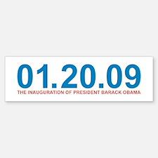 01.20.09 Obama Inauguration - Bumper Bumper Bumper Sticker