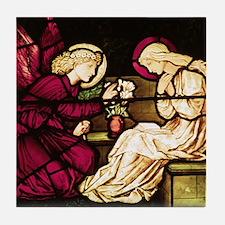 Burne-Jones Annunciation Tile Coaster