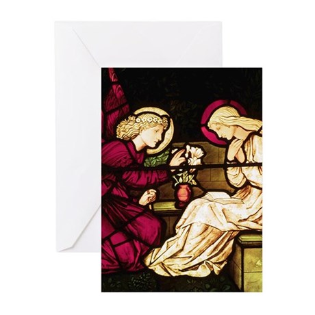 Burne-Jones Annunciation Greeting Cards (Package o