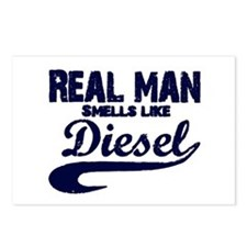 Real man Postcards (Package of 8)