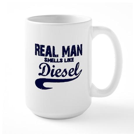 Real man Large Mug