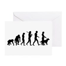 Dog Obedience Trainer Greeting Cards (Pk of 20)