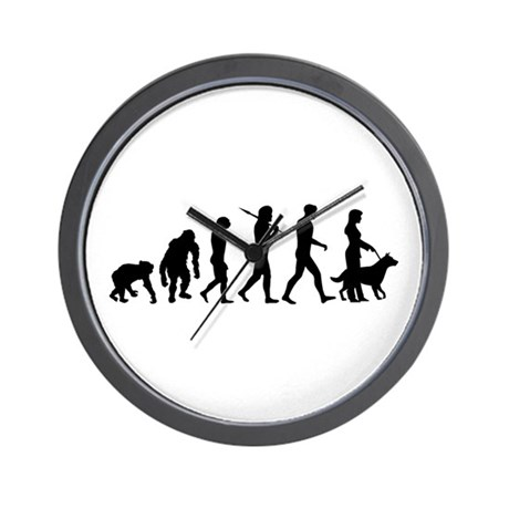 Dog Obedience Trainer Wall Clock