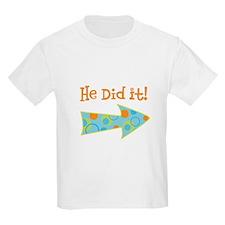 HeDidIt T-Shirt