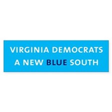 VA Democrat Bumper Bumper Sticker