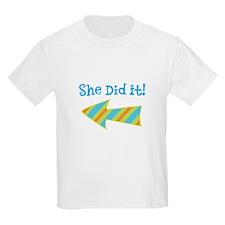 SheDidIt T-Shirt