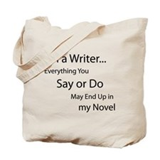 Unique Writer Tote Bag