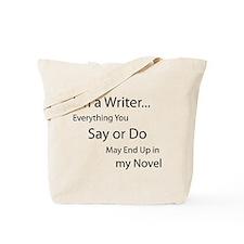 Unique Writing Tote Bag