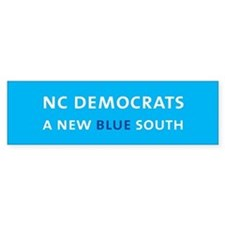 NC Bumper Sticker- Carolina Blue