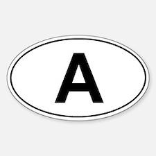 Austria car sticker (classic)