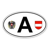 Austria sticker Bumper Stickers