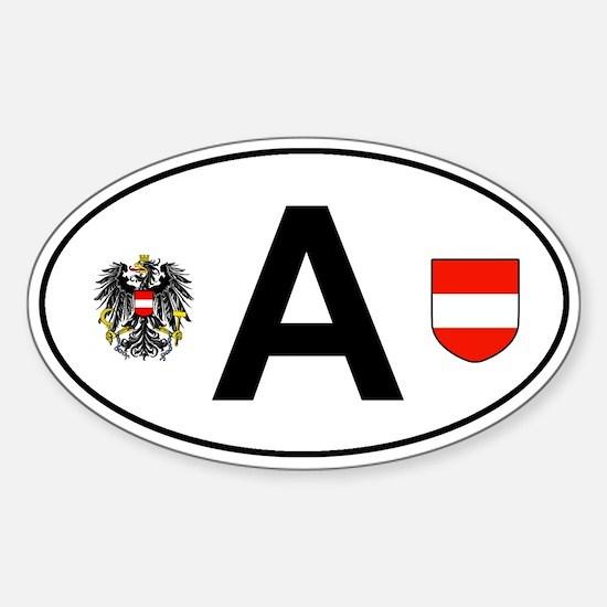 Austria car sticker