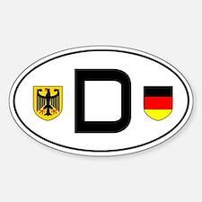 Germany car sticker