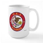 Illinois O.E.S. Large Mug
