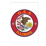 Illinois O.E.S. Postcards (Package of 8)