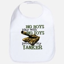 Big Boys Play with Big Toys T Bib