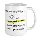 Mystery writer Coffee Mugs