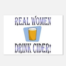 Real Women Drink Cider Postcards (Package of 8)