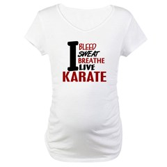 Bleed Sweat Breathe Karate Shirt