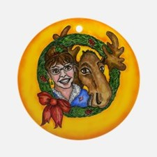 Sarah Palin and Moose Ornament