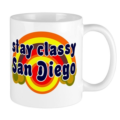 FUNNY SHIRT STAY CLASSY SAN DIEGO T-SHIRT GIFT Mug