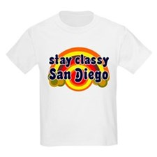 FUNNY SHIRT STAY CLASSY SAN DIEGO T-SHIRT GIFT Kid