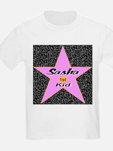 Sasha 1st Kid T-Shirt