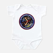 Space Flight Memorial Infant Bodysuit