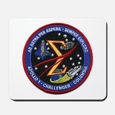 Space Flight Memorial Mousepad
