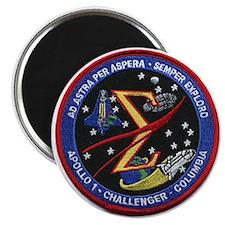 Shuttle Columbia Memoria Magnet