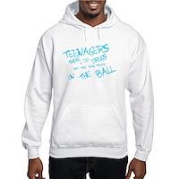 Teenages Smoke And Do Drugs... Hooded Sweatshirt