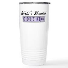 World's Greatest Nonie Travel Mug