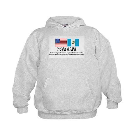 Kid's Hoodie Ash Grey Sweatshirt w/front pocket