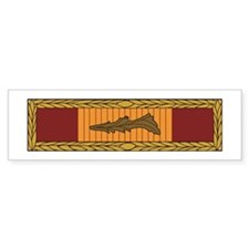Vietnam Gallantry Bumper Bumper Sticker
