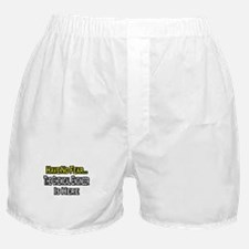 """""""No Fear, Chemical Engineer"""" Boxer Shorts"""