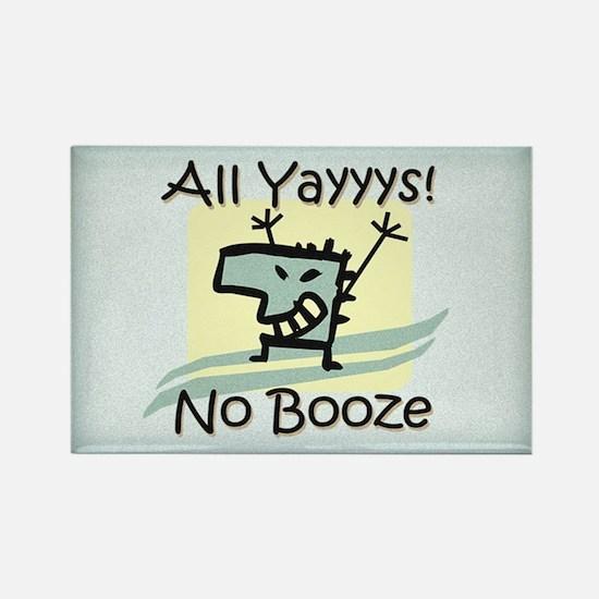 Alcohol Awareness Rectangle Magnet