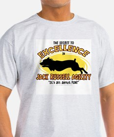 The Secret to Jack Russell Agility T-Shirt