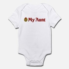 Olive (I Love) My Aunt Infant Bodysuit