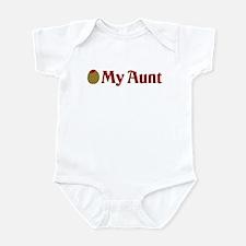 Olive (I Love) My Aunt Infant Bodysuit