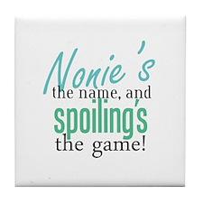 Nonie's the Name! Tile Coaster