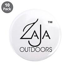 "Zaja Outdoors 3.5"" Button (10 pack)"