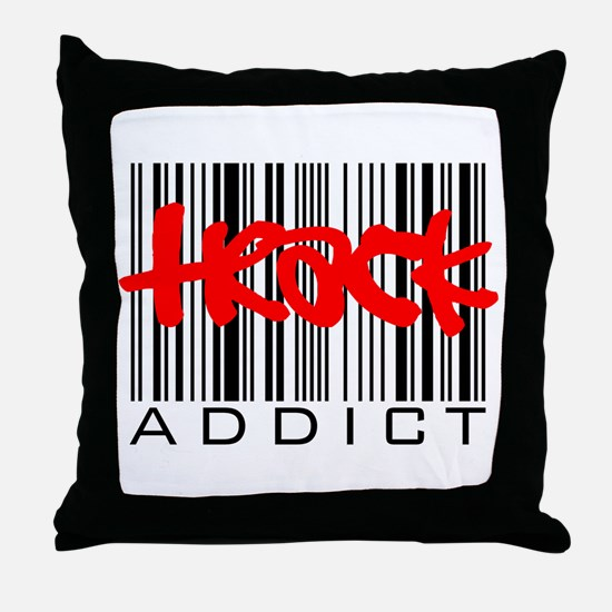 Track Addict Throw Pillow