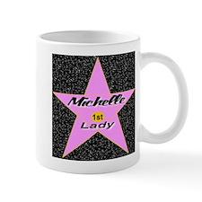 Michelle Obama 1st Lady Star Mug