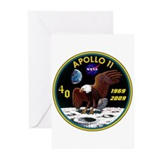 Apollo 11 40th Anniversary Greeting Cards (Pk of 1